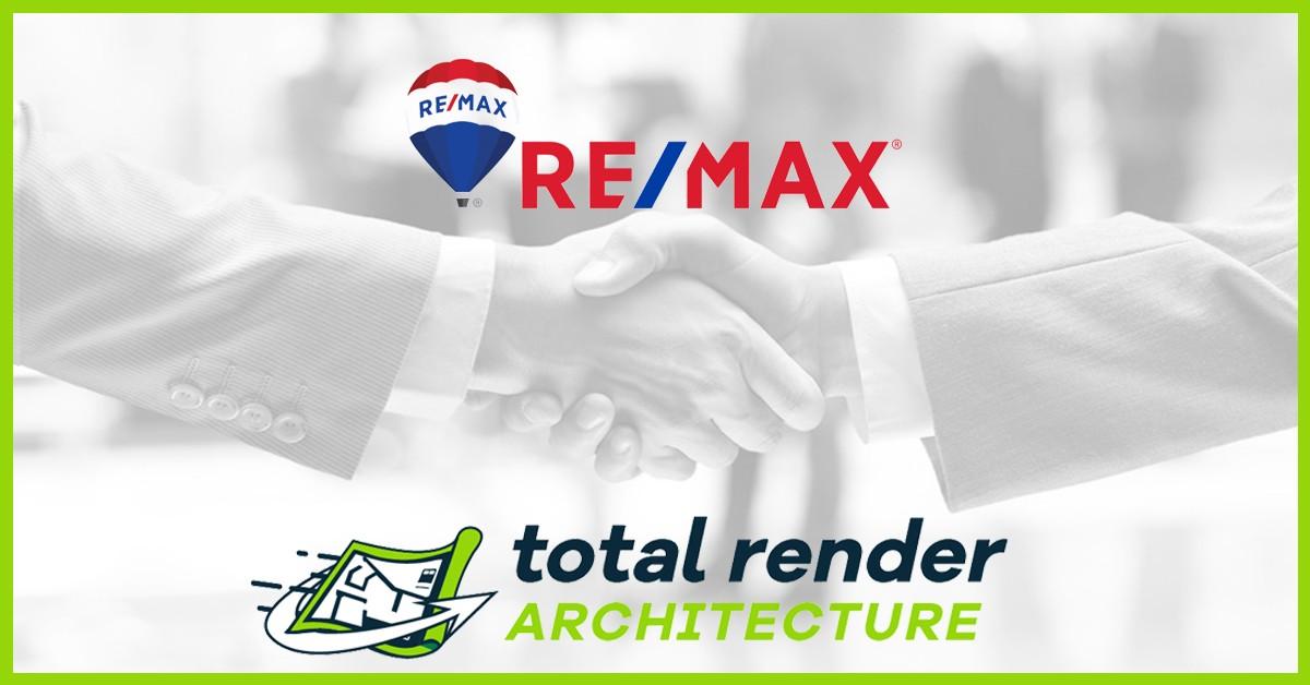 collaborazione ufficiale remax e total render architecture